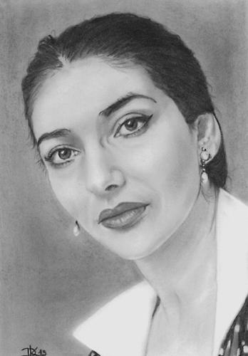 Maria Callas par Dani